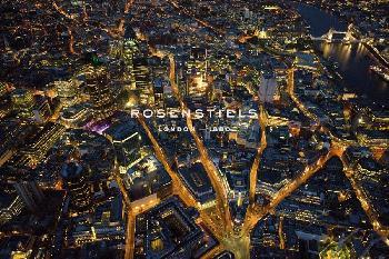 Jason Hawkes Sky VIew London I Giclee Canvas