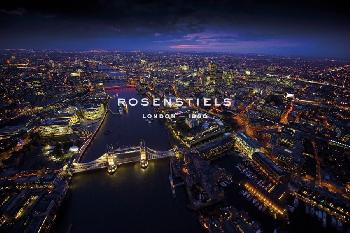 Jason Hawkes Sky VIew London II Giclee Canvas
