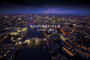 Jason Hawkes Sky VIew London II Giclee