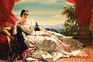 Franz Xaver Winterhalter Portrait Of Leonilla, Princess Of Sayn - Wittgenstein -