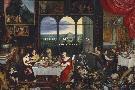 Pieter Bruegel The Elder The Senses Of Hearing, Touch And Taste