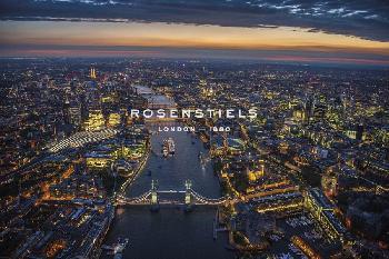 Jason Hawkes London VIsta  -  The Rush Giclee Canvas