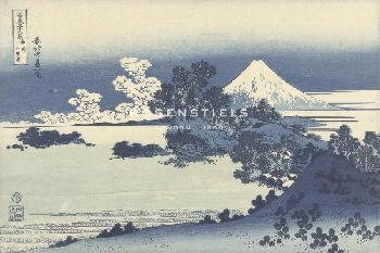 Katsushika Hokusai Seven Mile Beach In Sagami Province Giclee Canvas