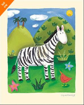 Sophie Harding Zara The Zebra   LAST ONES IN INVENTORY!!