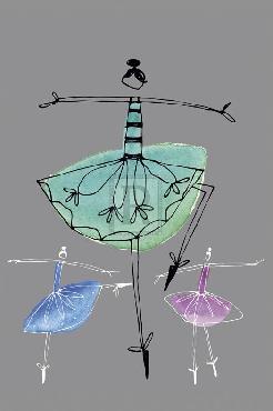 Callie Crosby And Rebecca Daw Pretty Ballerinas I