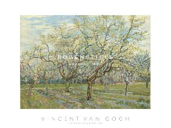 Vincent Van Gogh The White Orchard, 1888
