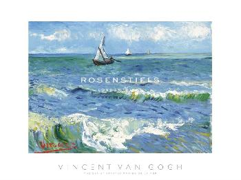 Vincent Van Gogh The Sea At Saintes Maries De La Mer