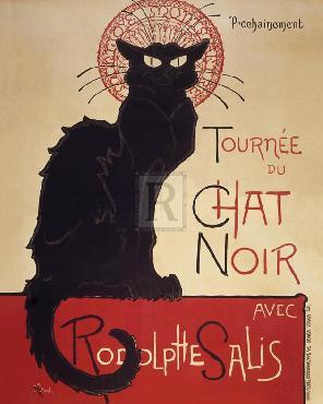 Theophile Alexandre Steinlen Le Chat Noir