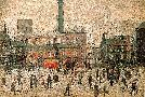 Laurence S Lowry COMING HOME FROM THE MILL