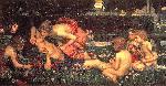 John William Waterhouse The Awakening