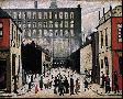 Laurence S Lowry STREET SCENE (PENDLEBURY)