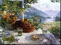 Stephen Darbishire Fruit In An Olive Wood Bowl