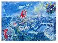 Marc Chagall View Of Paris