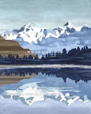 Mark Chandon Wintry Peak Giclee Canvas