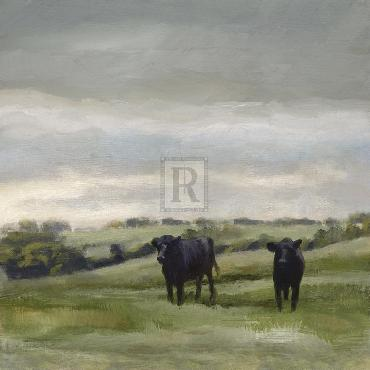 Mark Chandon To Pastures Fresh Giclee Canvas
