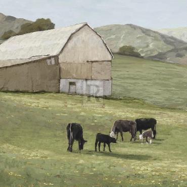 Mark Chandon Pastoral  -  Favourite Field Giclee Canvas