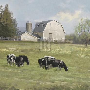 Mark Chandon Pastoral  -  Sweet Meadow Giclee Canvas