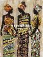 Chandon African Beauties Giclee