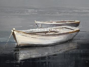 Mark Chandon Moored Together Giclee