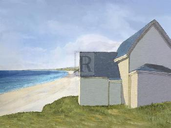 Mark Chandon A Day By The Sea Giclee Canvas