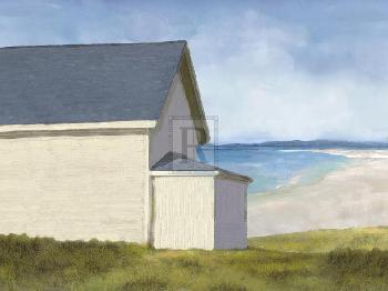 Mark Chandon A Day By The Ocean Giclee Canvas