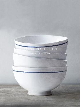 Mark Chandon Four Artisan Bowls Giclee Canvas