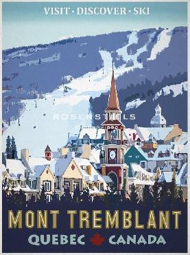 Mark Chandon Mont Tremblant, Canada Giclee