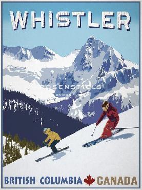 Mark Chandon Whistler, Canada Giclee