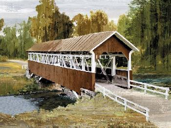 Mark Chandon Country Pass Giclee Canvas