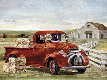 Mark Chandon Hay Ride Giclee Canvas