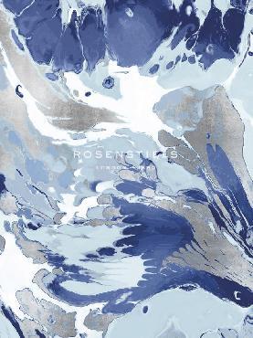 Mark Chandon Marmo Blu Giclee Canvas