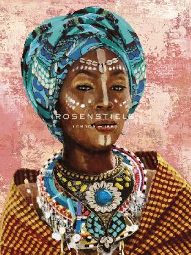 Mark Chandon Gorgeous Gele Giclee Canvas