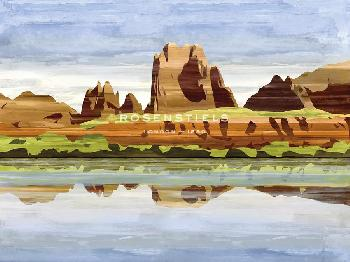 Mark Chandon Midday In Mesa Giclee