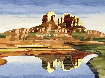 Mark Chandon Mountains Of Mesa Giclee
