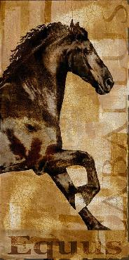 Mark Chandon Caballus II Giclee Canvas