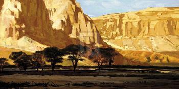 Mark Chandon Rocky Ridge Giclee Canvas