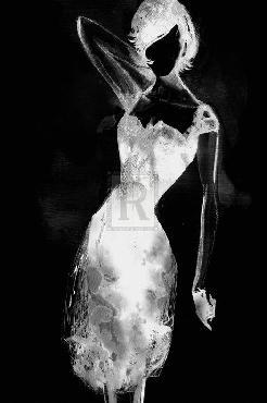 Mark Chandon Fashionista  -  Noir Giclee Canvas