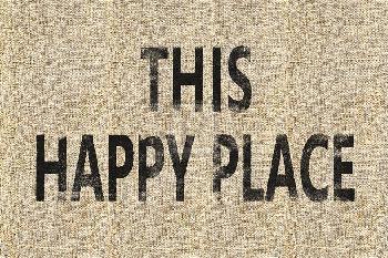 Mark Chandon Storehouse  -  Happy Giclee Canvas