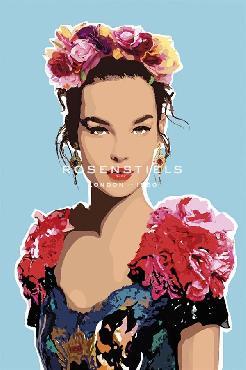 Mark Chandon Valentina Giclee Canvas