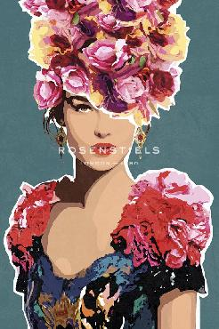 Mark Chandon Valentina Floral Giclee
