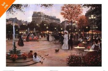 Christa Kieffer Parisian Promenade   LAST ONES IN INVENTORY!!