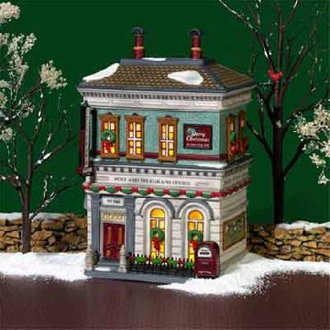 Dept 56 City Post & Telegraph Office Christmas in the City Series