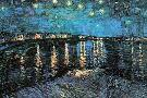 Vincent Van Gogh Starlight Over the Rhone