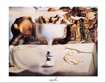 Salvador Dali Apparition Of Face And Fruit Dish On A Beach, C.1938