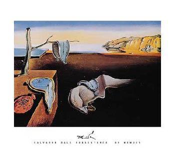 Salvador Dali Persistence Of Memory, 1931