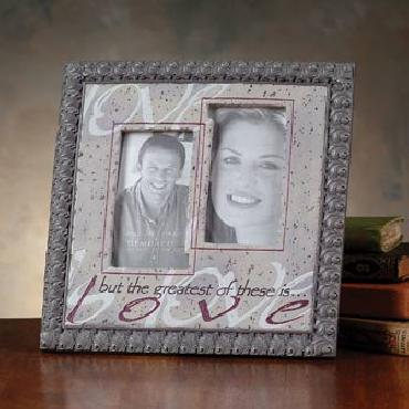 Bill Stross By Faith - The Greatest of These Picture Frame