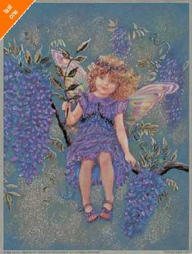 Judy Mastrangelo Wisteria Fairy Foil LAST ONES IN INVENTORY!!