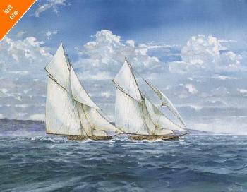 Judy Mastrangelo Windy Day Canvas LAST ONES IN INVENTORY!!