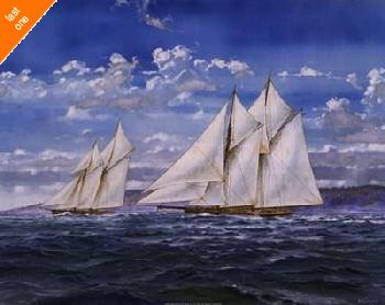 Judy Mastrangelo The Cream Of The Cruisers Canvas LAST ONES IN INVENTORY!!