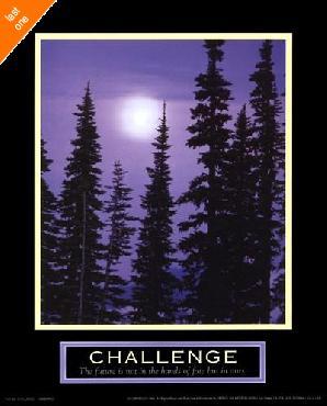 Motivational Challenge - Moonrise   LAST ONES IN INVENTORY!!